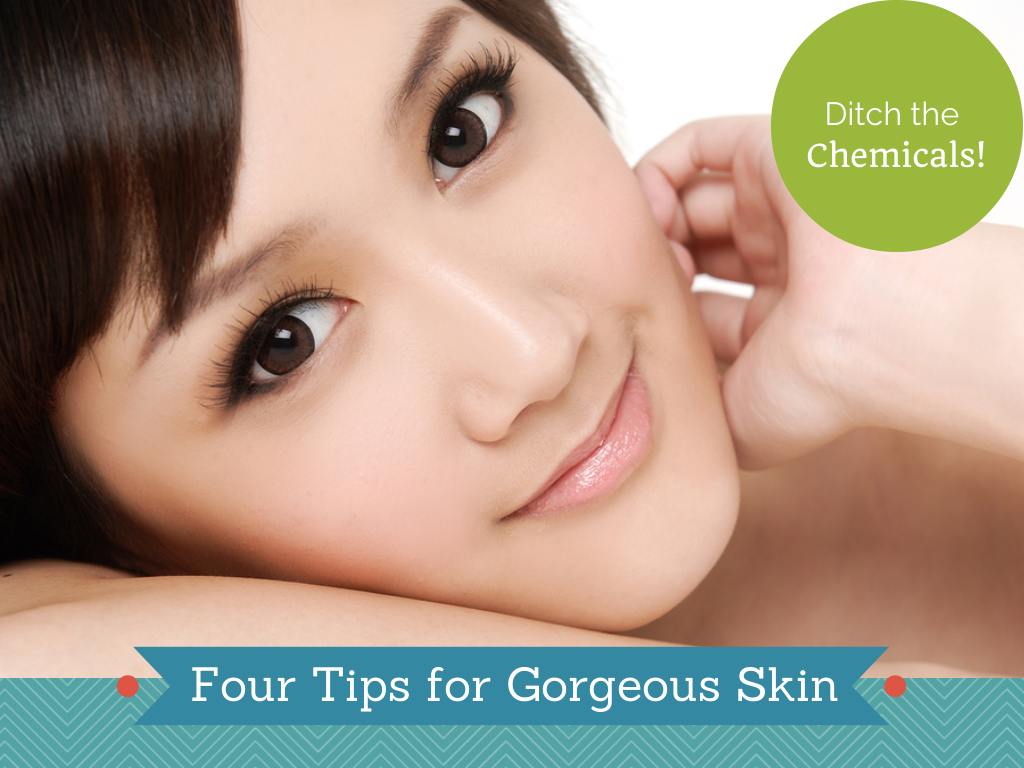 Beautiful Asian -  Four Skin Care Tips Chemical Free