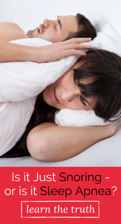 Do you put in the hours of sleep at night, but feel exhausted in the morning? It could be related to your snoring. Find out when a snore is something more here.