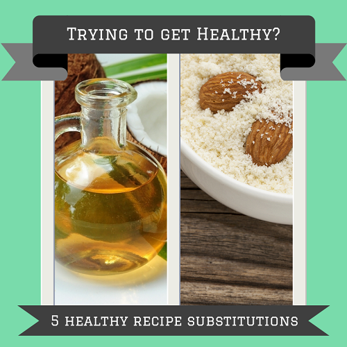 Eating healthy doesn't have to feel overwhelming. Try one of these simple and healthy recipe substitutions today!