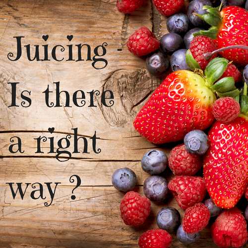 Is juicing just a trendy thing to do, or are there health benefits? Learn the right and the wrong way to juice.