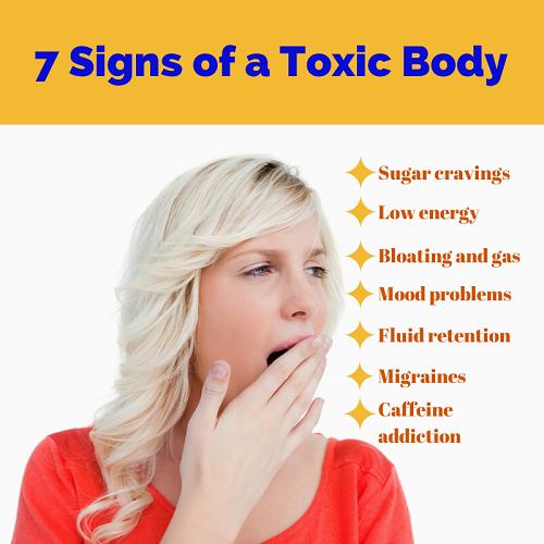 what causes toxic in the body