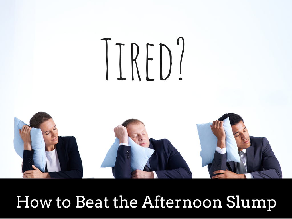 Tired of trying to fend off the afternoon slump? Learn how to beat it for good with these all-natural remedies.