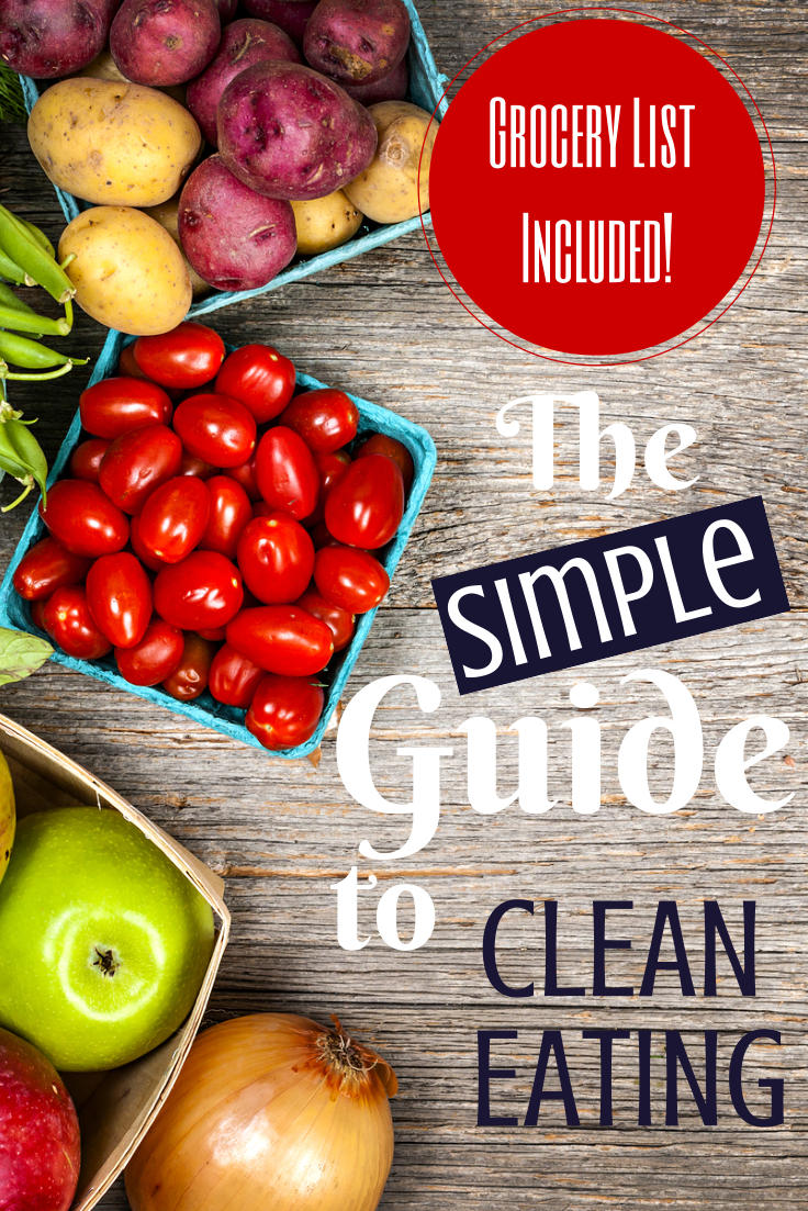 Download our simple guide to clean eating!