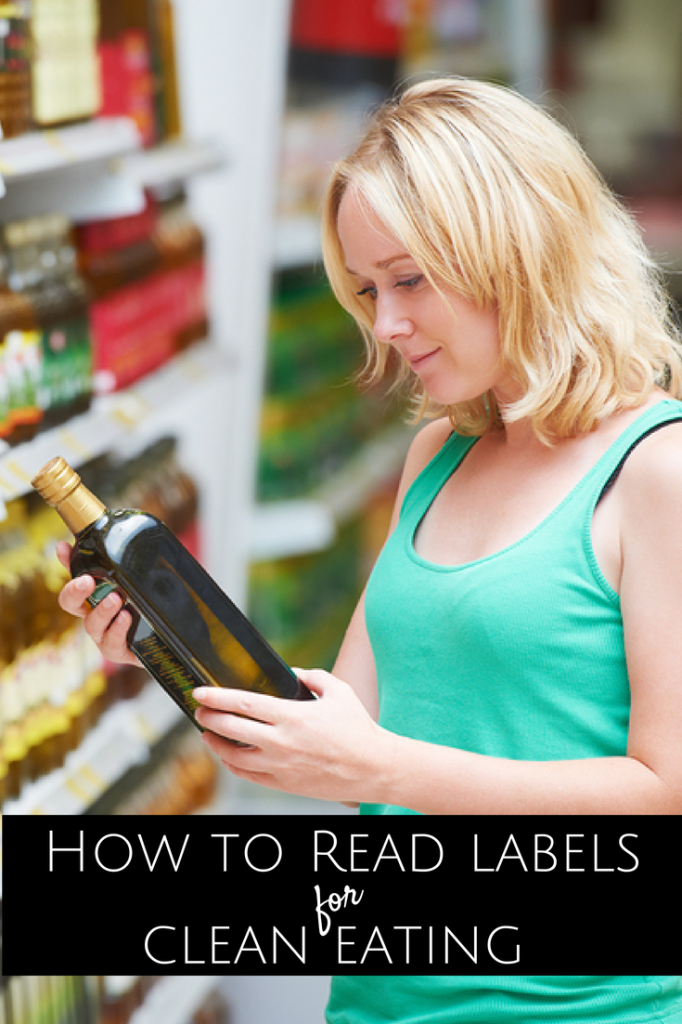 Reading labels clean eating