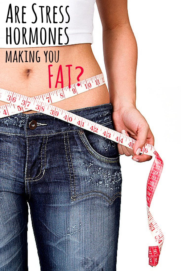 Can't seem to shed those extra pounds? Stress hormones could be sabotaging your efforts!