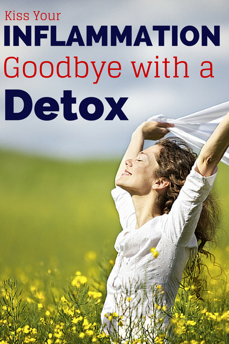 Inflammation causes problems from heart to disease to headache. Learn how to kick it to the curb with a proper detox!