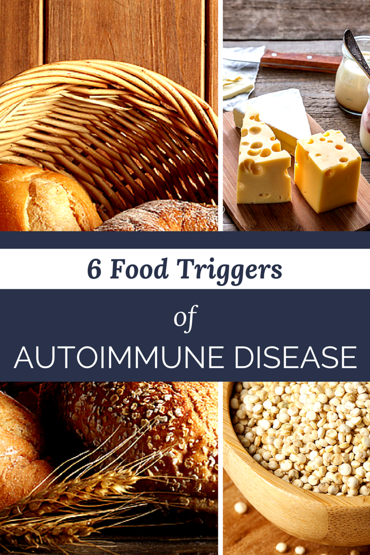 Are one of these six food causing your autoimmune flares?